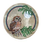 Cedar and Saw-Whet Owl