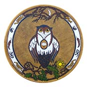 Owl Goddess Drum